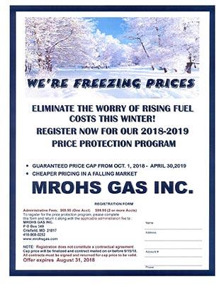 Mrohs Gas Inc Flyer